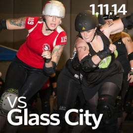 vs. Glass City/Cornfed Derby Dames