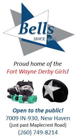Bell's Roller Rink Proud Home of the Derby Girls