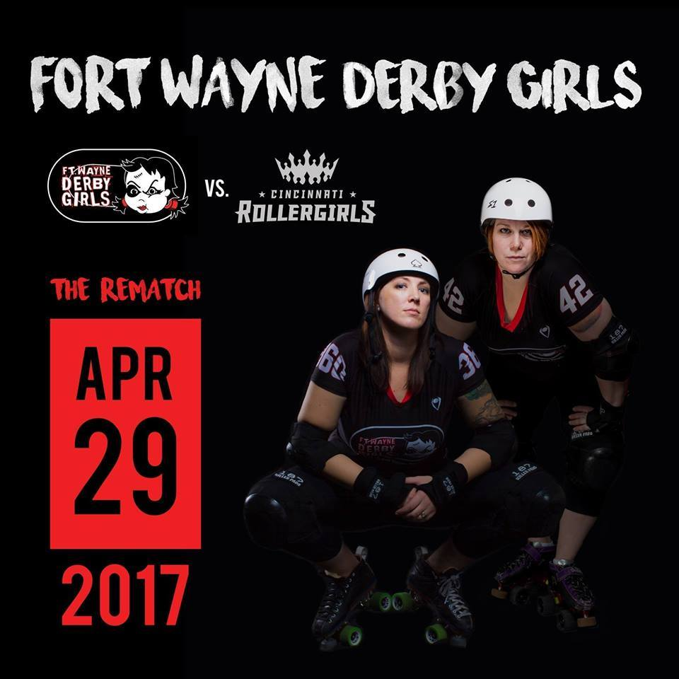 Cincinnati RollerGirls Rematch